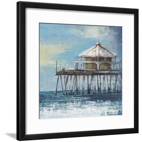 Boardwalk Pier-Liz Jardine-Framed Art Print