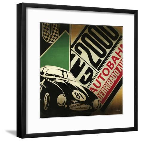 Autobahn-Kc Haxton-Framed Art Print