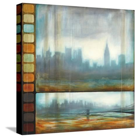 New York Motion-Pablo Rojero-Stretched Canvas Print