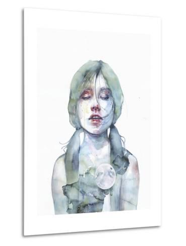 The Smallest Thing of the Universe-Agnes Cecile-Metal Print
