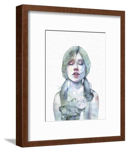 The Smallest Thing of the Universe-Agnes Cecile-Framed Art Print