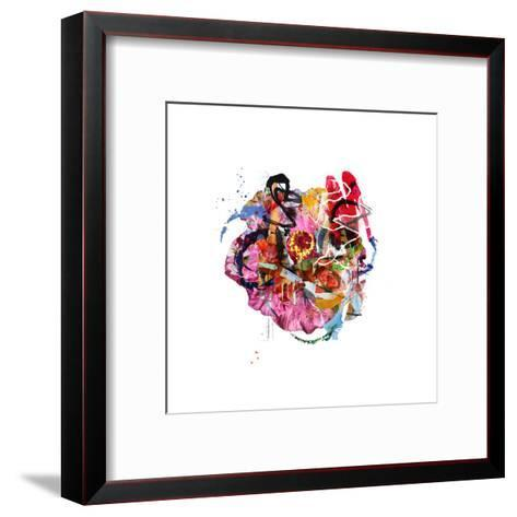 Hi-Alex Cherry-Framed Art Print