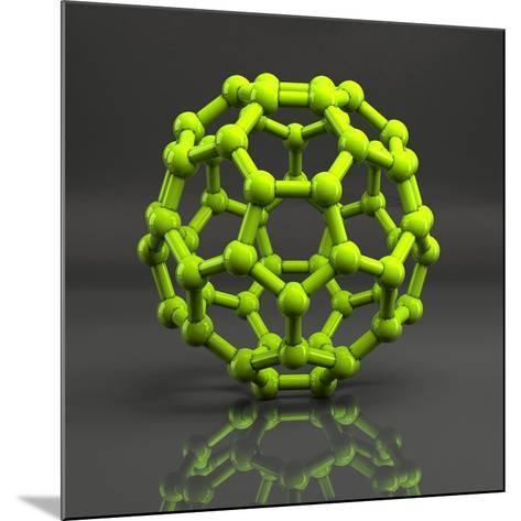 Buckyball Molecule C60, Artwork-Laguna Design-Mounted Photographic Print