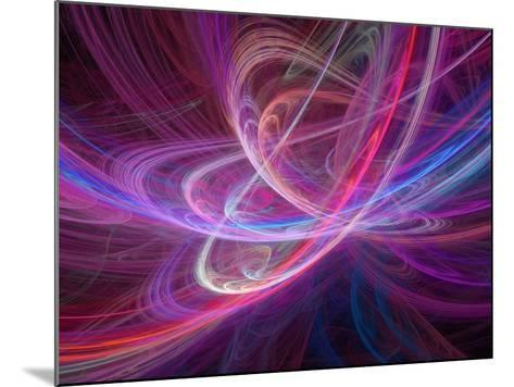 Chaos Waves, Artwork-Laguna Design-Mounted Photographic Print