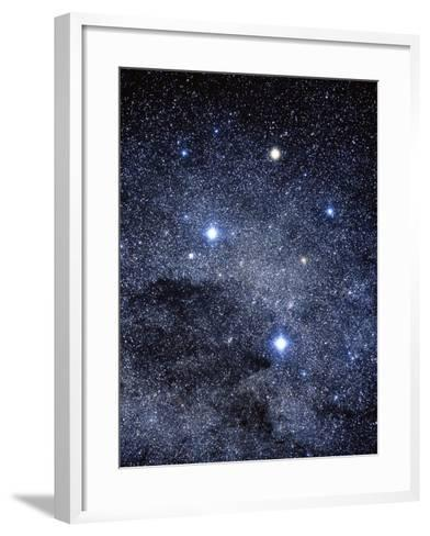 The Constellation of the Southern Cross-Luke Dodd-Framed Art Print