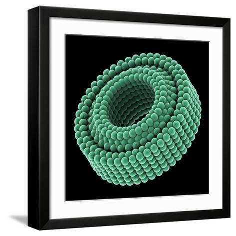 Nano-bearing, Artwork-Laguna Design-Framed Art Print