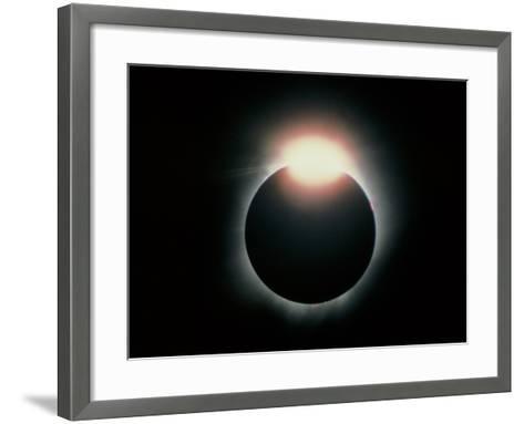 Total Solar Eclipse, 11 July 1991-Dr. Fred Espenak-Framed Art Print