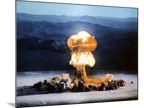 Atomic Bomb Explosion-u.s. Department of Energy-Mounted Photographic Print