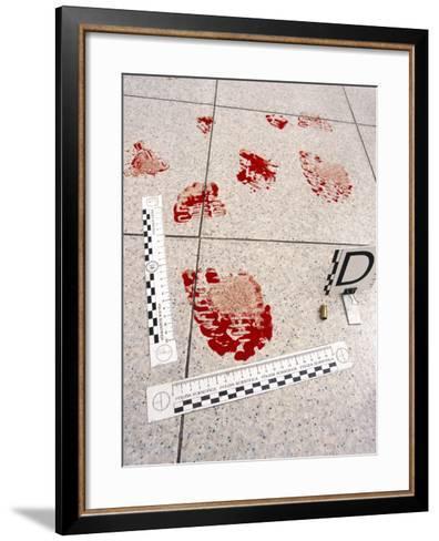 Recording Evidence-Mauro Fermariello-Framed Art Print