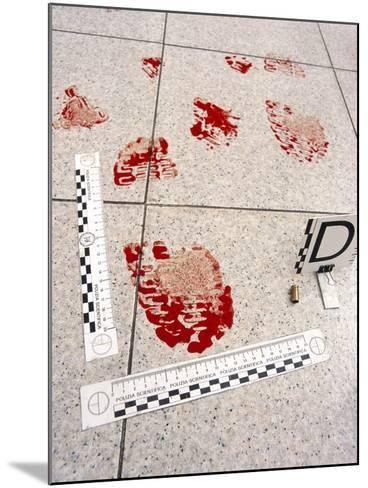 Recording Evidence-Mauro Fermariello-Mounted Photographic Print