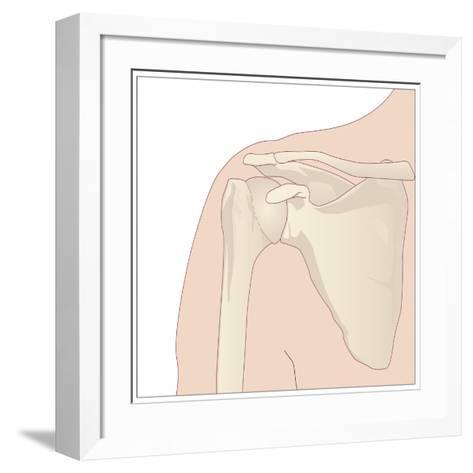 Shoulder Bones, Artwork-Peter Gardiner-Framed Art Print