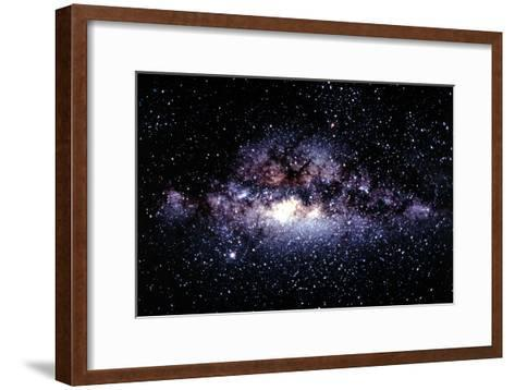Central Milky Way In Constellation Sagittarius-Dr. Fred Espenak-Framed Art Print