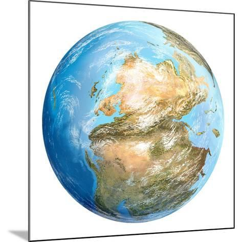 Pangea Supercontinent, Artwork-Gary Gastrolab-Mounted Photographic Print