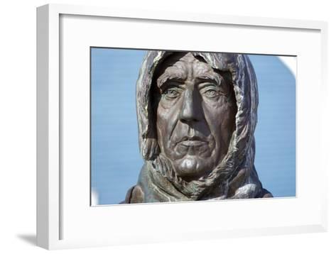 Statue of Roald Amundsen-Dr. Juerg Alean-Framed Art Print