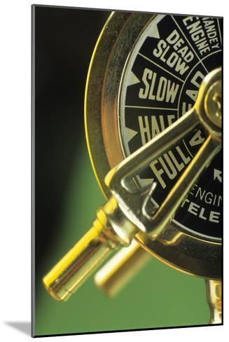 Ship's Telegraph-David Aubrey-Mounted Photographic Print