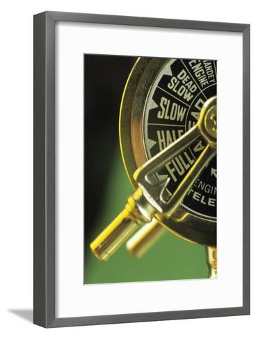 Ship's Telegraph-David Aubrey-Framed Art Print