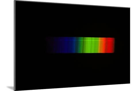 Betelgeuse Emission Spectrum-Dr. Juerg Alean-Mounted Photographic Print