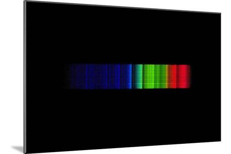 Omicron Ceti Emission Spectrum-Dr. Juerg Alean-Mounted Photographic Print