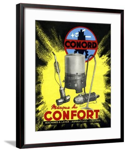 Conord Domestic Appliances Advert, 1949-CCI Archives-Framed Art Print