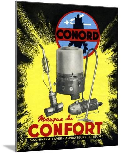 Conord Domestic Appliances Advert, 1949-CCI Archives-Mounted Photographic Print