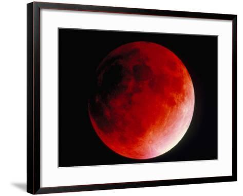 Lunar Eclipse-Dr. Juerg Alean-Framed Art Print