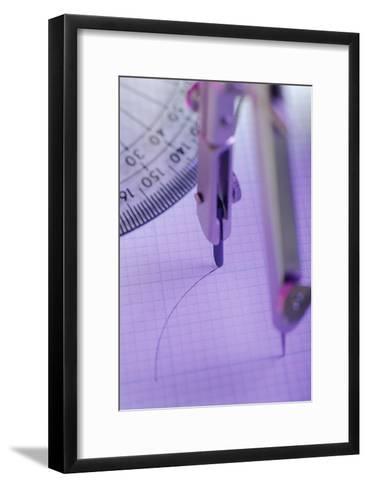 Technical Drawing-David Aubrey-Framed Art Print