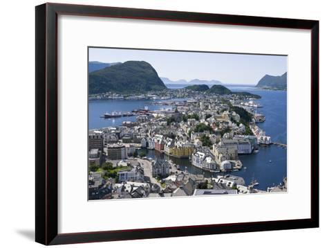 Alesund, Norway-Dr. Juerg Alean-Framed Art Print