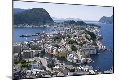Alesund, Norway-Dr. Juerg Alean-Mounted Photographic Print