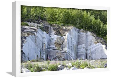 Marble Quarry, Norway-Dr. Juerg Alean-Framed Art Print