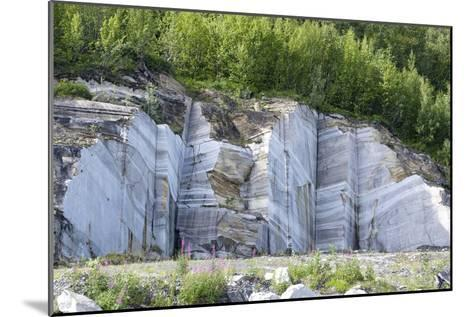 Marble Quarry, Norway-Dr. Juerg Alean-Mounted Photographic Print