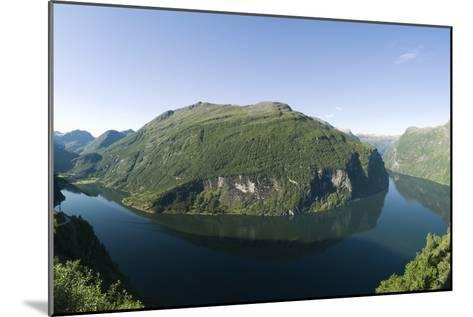 Geiranger Fjord, Norway-Dr. Juerg Alean-Mounted Photographic Print