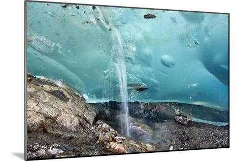 Glacial Cave, Switzerland-Dr. Juerg Alean-Mounted Photographic Print