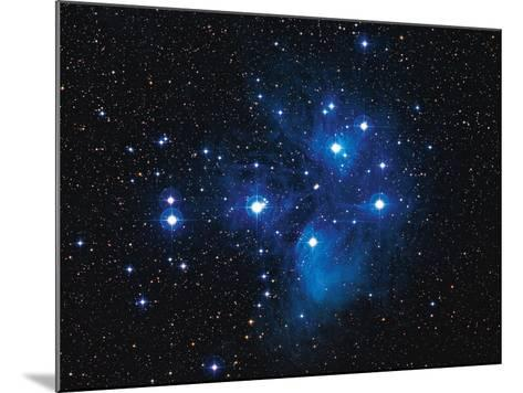 Pleiades Star Cluster-Slawik Birkle-Mounted Photographic Print