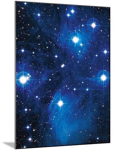 Pleiades Star Cluster-Slawik Birkle-Mounted Photographic Print