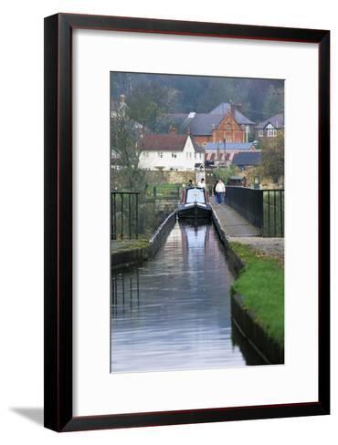 Pontcysyllte Aqueduct-Adrian Bicker-Framed Art Print