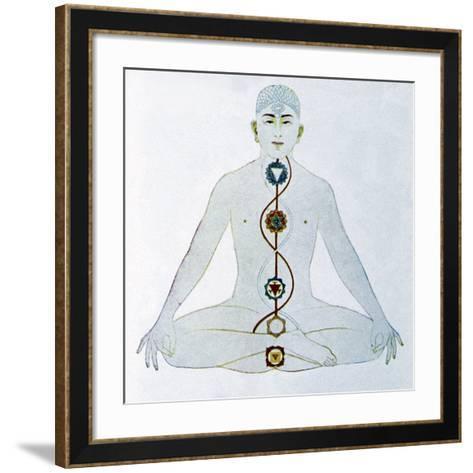 Yoga, 19th Century Artwork-CCI Archives-Framed Art Print