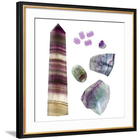 Fluorite-Paul Biddle-Framed Art Print