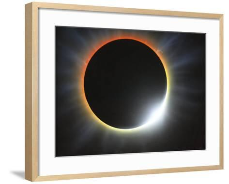 Annular Solar Eclipse, Artwork-Richard Bizley-Framed Art Print