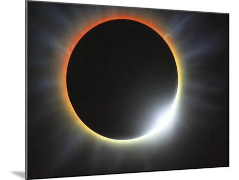 Annular Solar Eclipse, Artwork-Richard Bizley-Mounted Photographic Print