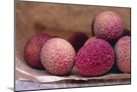 Lychee Fruit-Maxine Adcock-Mounted Photographic Print