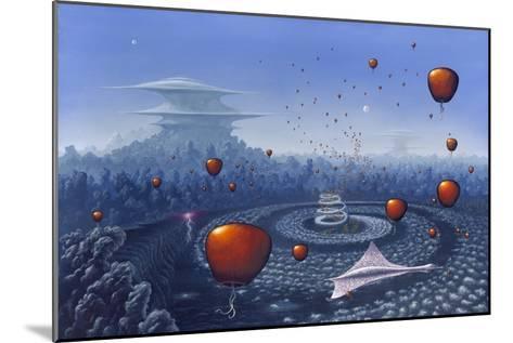 Alien Life Forms, Artwork-Richard Bizley-Mounted Photographic Print