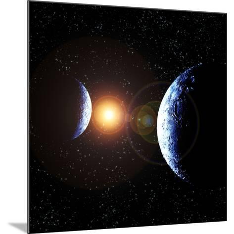 Double Planet-Julian Baum-Mounted Photographic Print