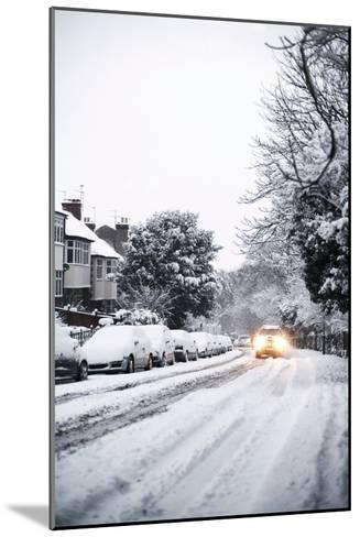 Snow-covered Road-Ian Boddy-Mounted Photographic Print