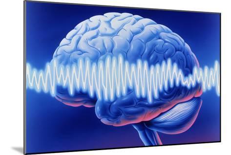 Brainwaves-John Bavosi-Mounted Photographic Print