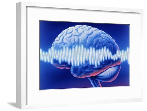 Brainwaves-John Bavosi-Framed Art Print