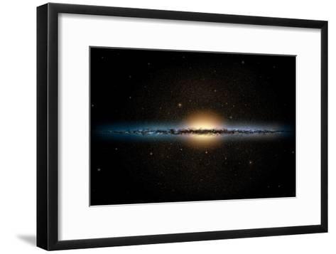 Milky Way Galaxy-Chris Butler-Framed Art Print