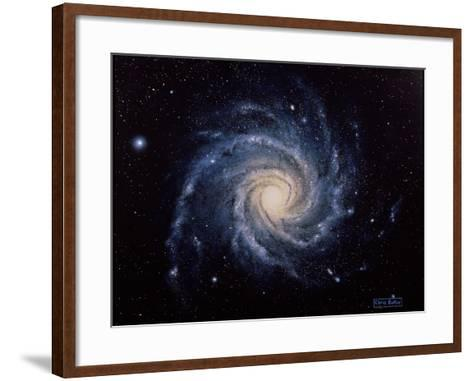 Spiral Galaxy M74-Chris Butler-Framed Art Print