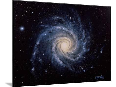 Spiral Galaxy M74-Chris Butler-Mounted Photographic Print