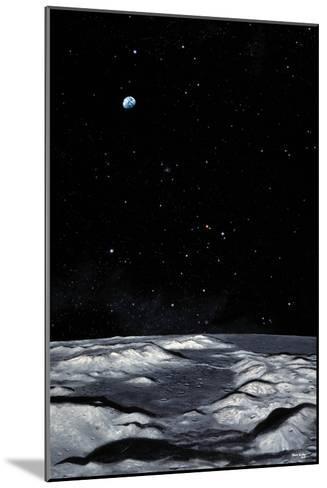 Apollo 17 Landing Site on Moon-Chris Butler-Mounted Photographic Print
