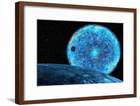 Death of the Sun-Chris Butler-Framed Art Print